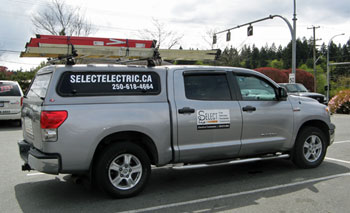 Select Electric truck